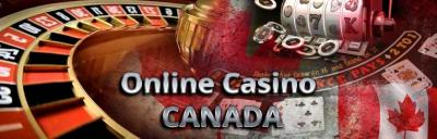 Online Casino Canada with roulette table